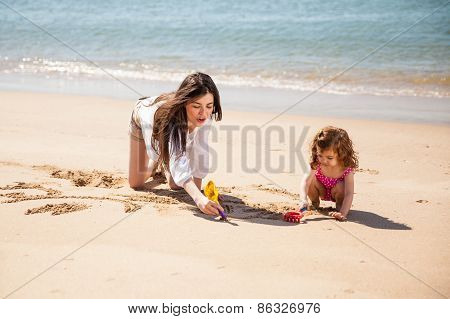 Babysitter At The Beach
