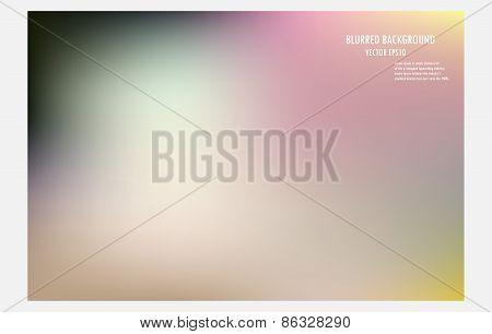 Colorful Blurred Background, Vector Illustrator Desige.