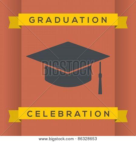 Flat Design Graduation Celebration.