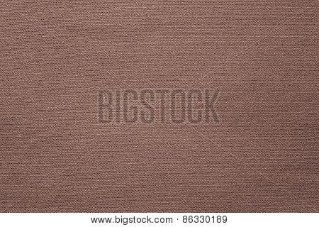 Connected Texture Textile Fabric Of Brown Color