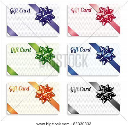 Gift card set.
