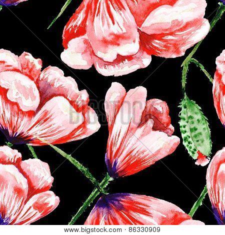 Dramatic Romas Floral Pattern