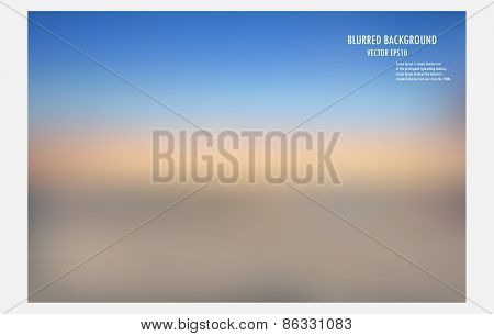 Blurred Background, Vector Illustrator Desige.