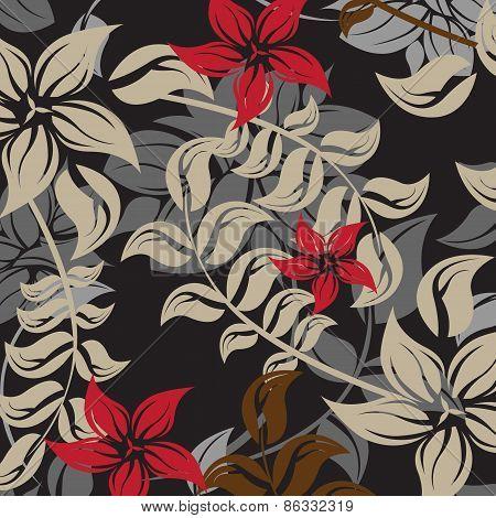 Seamples  Spring Flower illustration