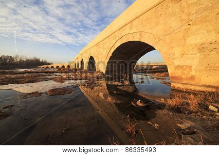 Egri Bridge In Sivas, Turkey