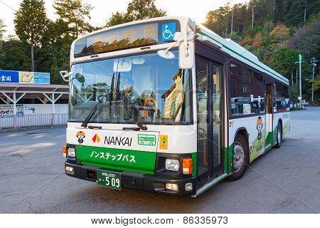 Nankai Bus in Wakayama