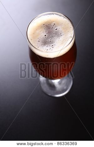 Glass Of Amber Ale