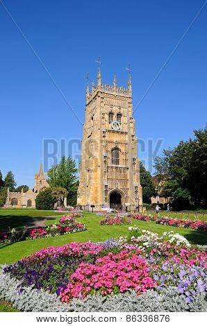 Evesham Abbey and Gardens.