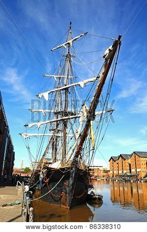 Tall Ship, Gloucester.