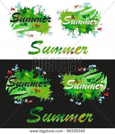 Summer Watercolor Fill