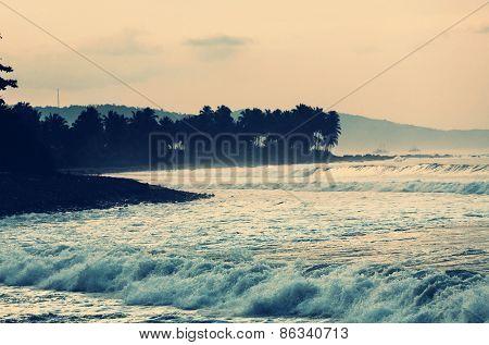 Tropical beach, Indonesia Java