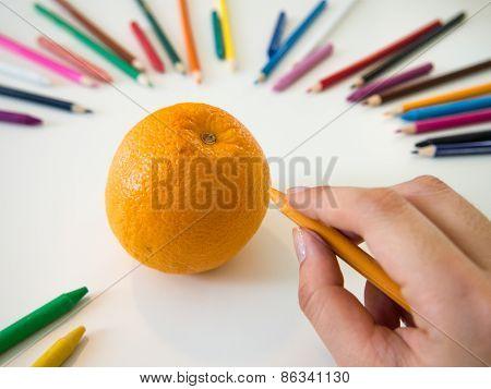 Drawing Orange