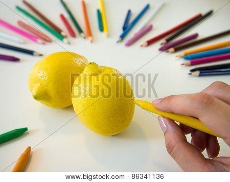 Drawing Lemons