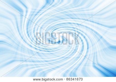 Abstract Background Of Blue Swirling Texture, Illustration