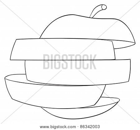 Delightful Garden - Sliced Apple 1