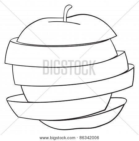 Delightful Garden - Sliced Apple 2