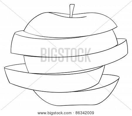 Delightful Garden - Sliced Apple 3