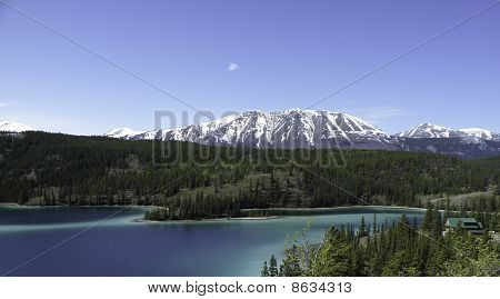 Emerald Lake with Mountain