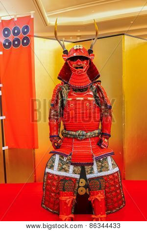 Replica Of Sanada Yukimura Armor in Osaka Japan