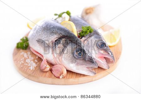 raw fish on board