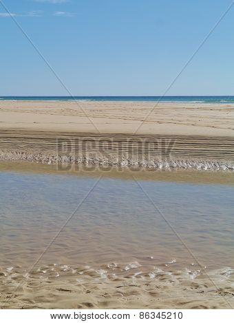 The beach of Fuerteventura