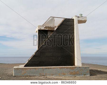The Punta Pesebre lighthouse