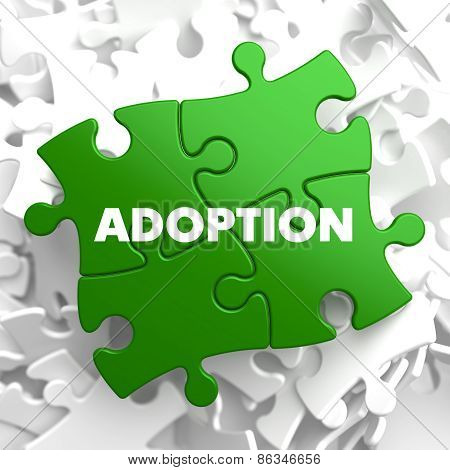 Adoption on Green Puzzle.