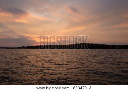 Lake After Sunset
