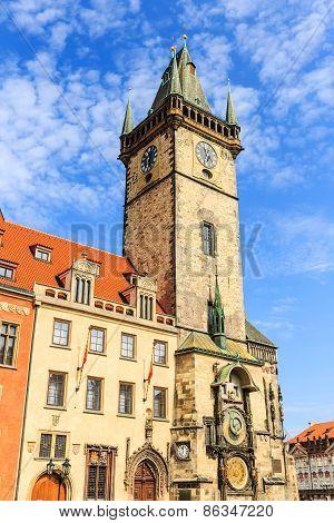 Clock Tower. Prague, Czech Repubilc