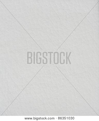 perfect white leather texture. may used as background.