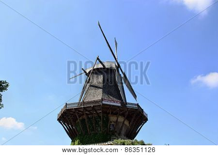 Windmill For The Production Of Flour