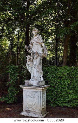 Monument In The Park Sanssouci
