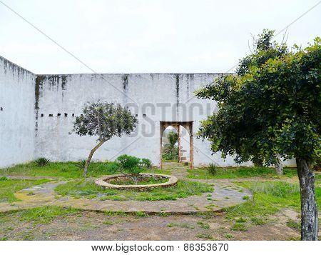 Ruins in Betancuria in Spain