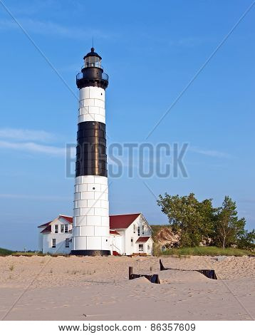 Big Sable Lighthouse In Ludington State Park