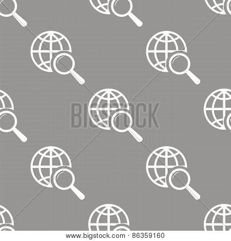 World scan seamless pattern