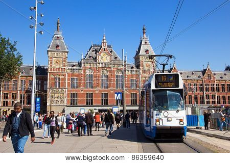 Amsterdam Central Station