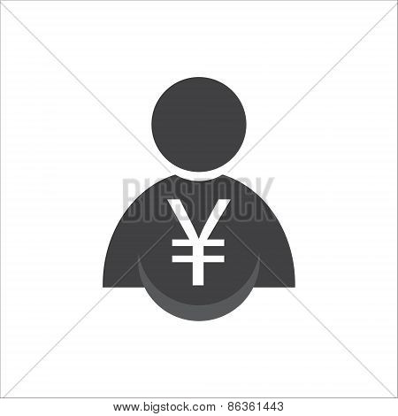 Man With Money Icon