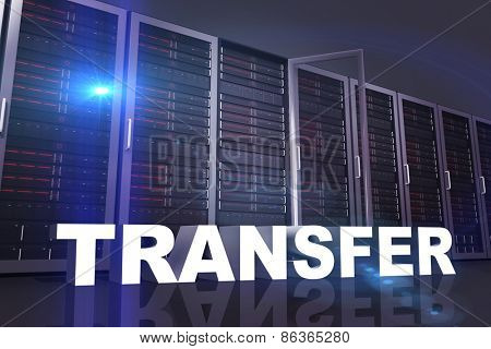 transfer against server towers