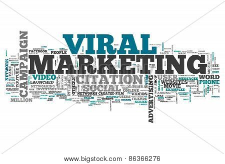 Word Cloud Viral Marketing