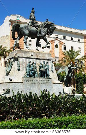 War memorial, Jerez de la Frontera.
