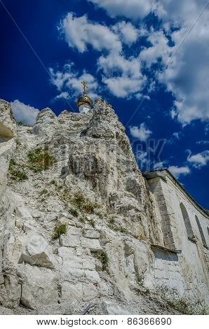 Orthodox Cathedral Carved Out Of Natural Rock