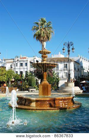 Fountain, Sanlucar de Barrameda.