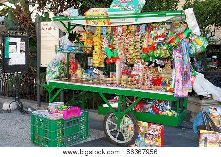 Snack stall, Sanlucar de Barrameda.
