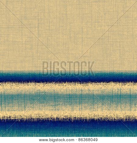 Designed background in grunge style. With different color patterns: yellow (beige); gray; blue