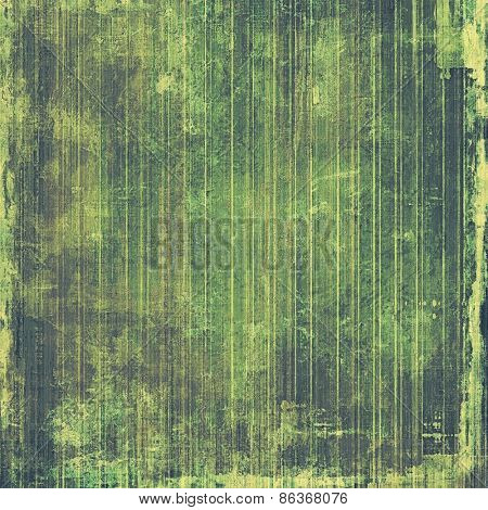 Abstract old background or faded grunge texture. With different color patterns: yellow (beige); gray; green