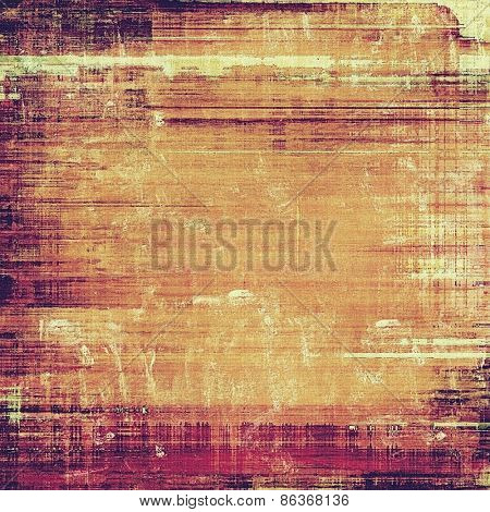 Aged grunge texture. With different color patterns: yellow (beige); brown; purple (violet)