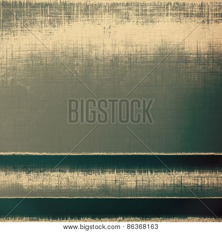 Designed grunge texture or retro background. With different color patterns: yellow (beige); brown; gray