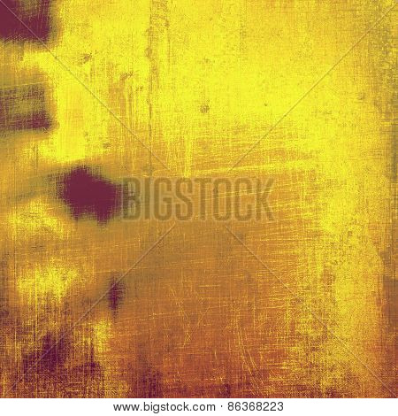Old abstract grunge background, aged retro texture. With different color patterns: yellow (beige); brown; purple (violet)