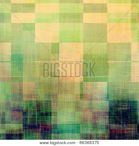 Antique vintage texture, old-fashioned weathered background. With different color patterns: yellow (beige); green; purple (violet); blue