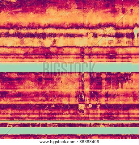 Old grunge template. With different color patterns: purple (violet); cyan; pink; red (orange)